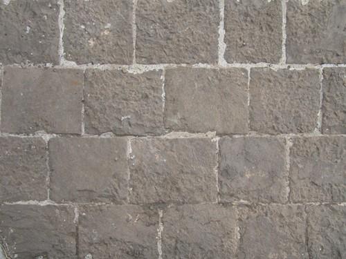 Mozaiek Riverstones getrommeld